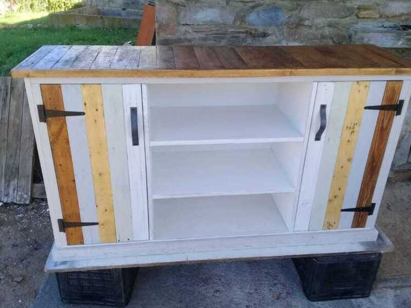 2door 3shelves tv cabinet