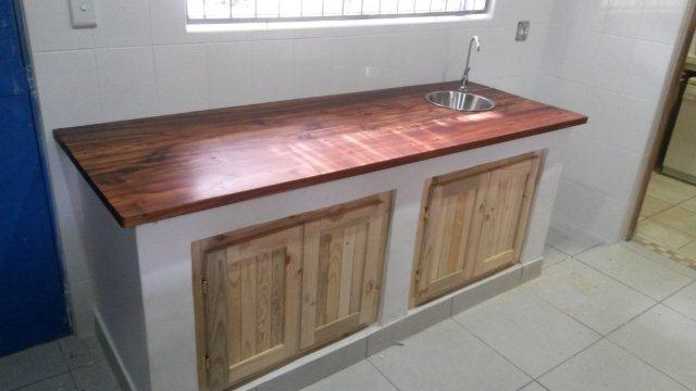 Kitchen Blackwood Top