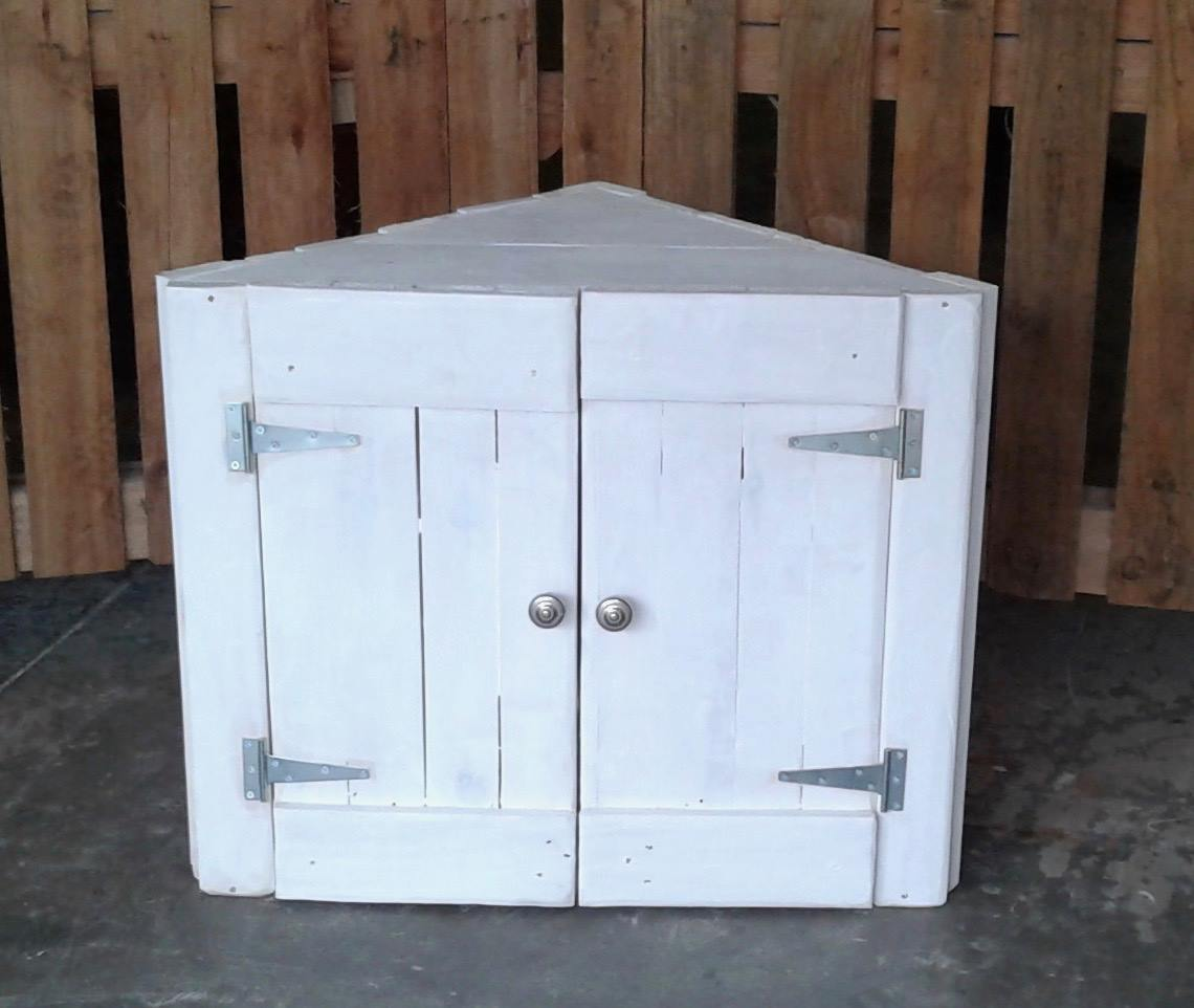 Corner Cupboard White