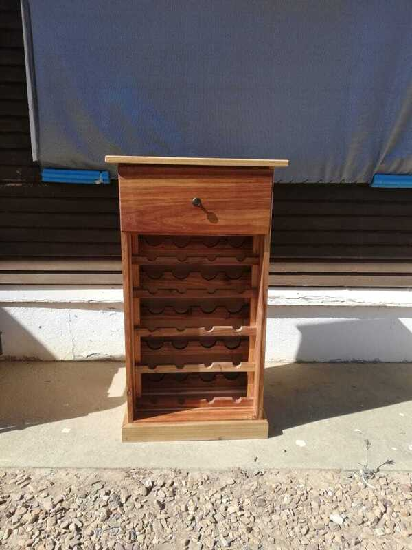 drawer winerack blackwood