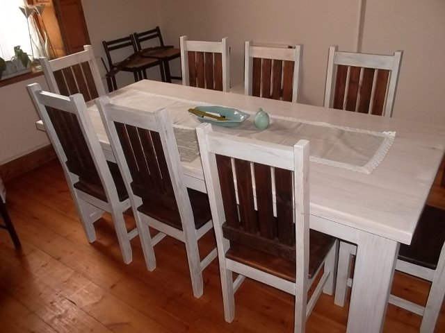 Painted Table Chairs