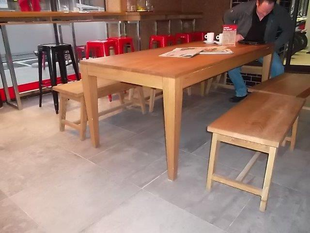 Restuarant Table Benches