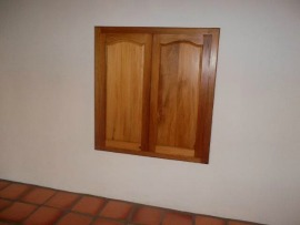 Riversdal Hard wood Wall unit
