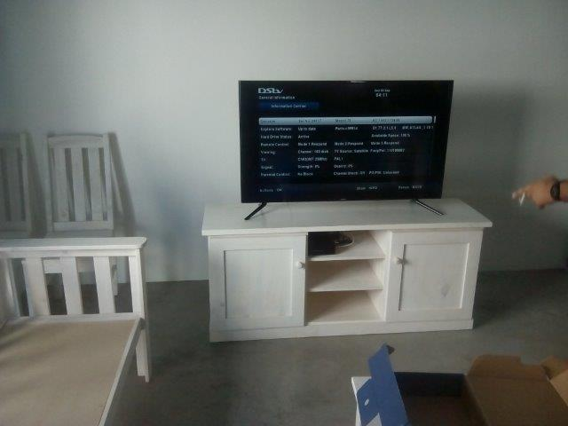 tv stand painted